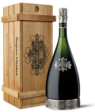 Segura Reserva Heredad – «Macabeo-Parellada» White 1500 ml – Wooden Box